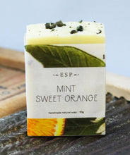 Mint Sweet Orange Soap Bar