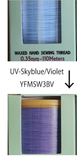 SALE! Waxed Poly Cord Thread 0.35mm UV Colour Change - Limited Edition - YUE FUNG BRAND