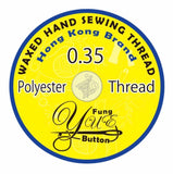 Waxed Poly Cord Thread - 0.35mm - YUE FUNG BRAND