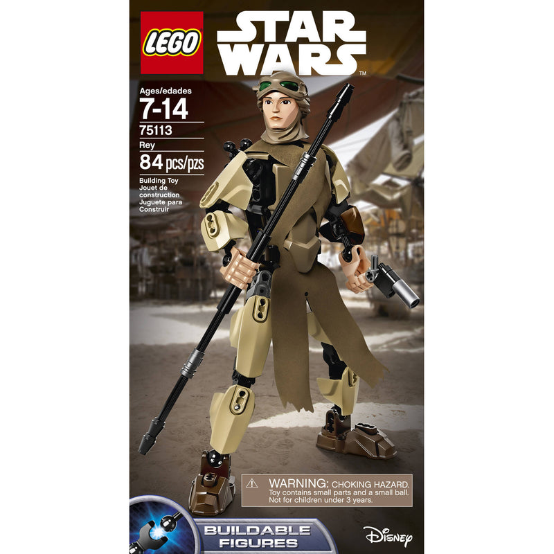 Lego Star Wars Rey Building Set 75113 - Albagame