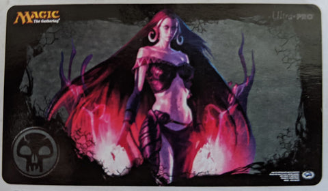 magic the gathering play mat MTG Mana4_Liliana