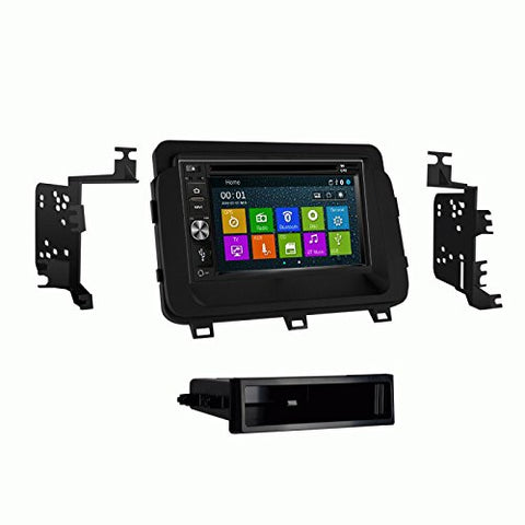 DVD GPS Navigation Multimedia Radio and Dash Kit for Kia Optima 2014-2016
