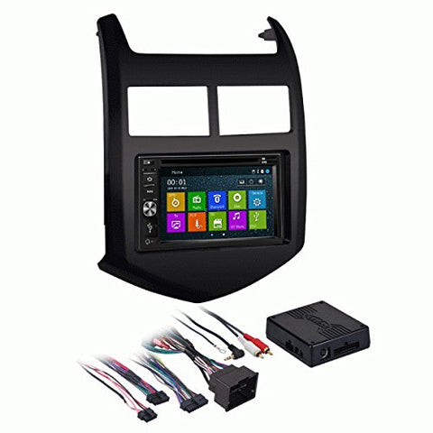 GPS Navigation Multimedia Radio and Dash Kit for Chevrolet Sonic 2012-2016