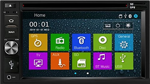 Otto Navi DVD GPS Navigation Multimedia Radio and Dash Kit for Mazda Multi-Kit 1995-2011