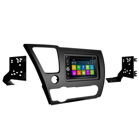 GPS Navigation Multimedia Radio and Dash Kit for Honda Civic 2013-2015