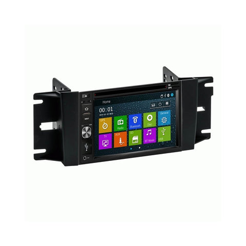 Otto Navi DVD GPS Navigation Multimedia Radio and Dash Kit for Chrysler Pacifica 2004-2008