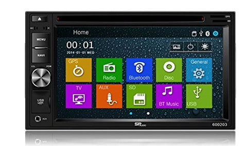 DVD GPS Navigation Multimedia Radio and Dash Kit for Nissan Armada 2004-2005