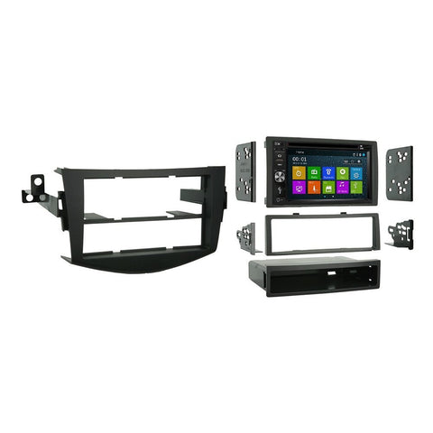 Otto Navi DVD GPS Navigation Multimedia Radio and Dash Kit for Toyota RAV4 2006-2012