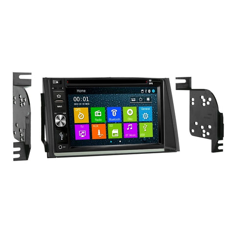 Otto Navi DVD GPS Navigation Multimedia Radio and Dash Kit for Hyundai Azera 2006-2011