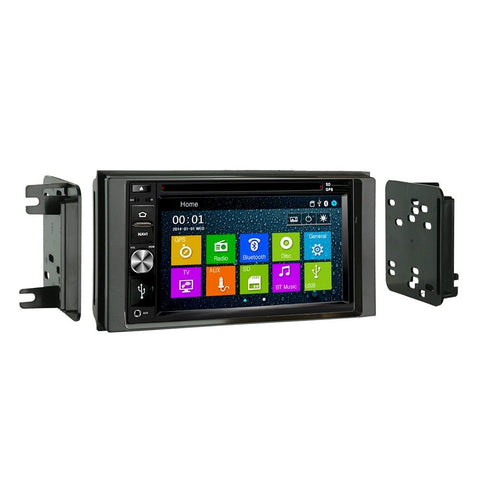 Otto Navi DVD GPS Navigation Multimedia Radio and Dash Kit for Subaru Impreza 2008-2014