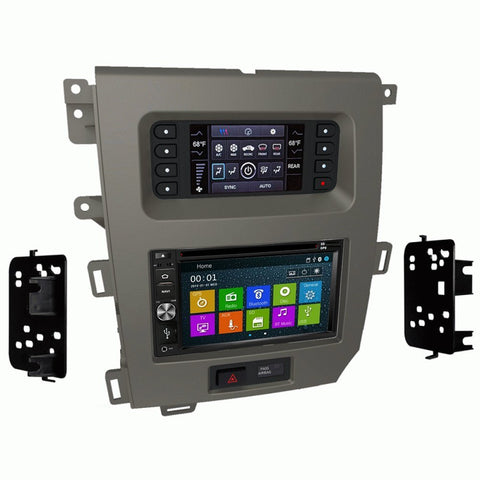 GPS Navigation Radio and Dash Kit for Ford Edge w/ 4.2-inch screen (excluding SEL trim) 11-14