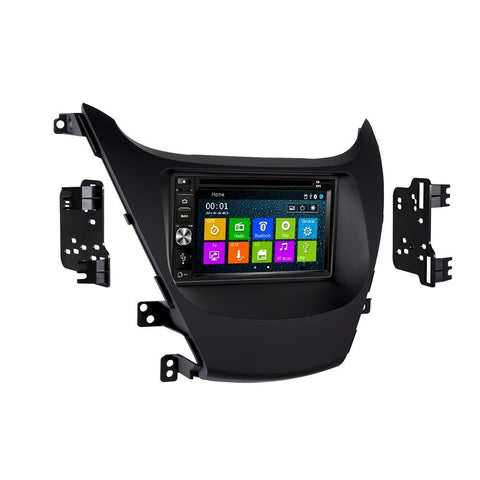 Otto Navi DVD GPS Navigation Multimedia Radio and Dash Kit for Hyundai Elantra 2014-2016