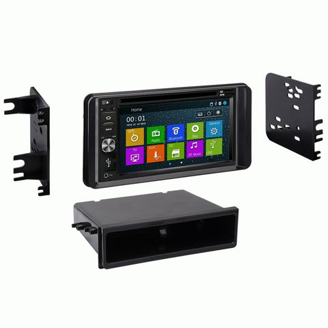 Otto Navi DVD GPS Navigation Multimedia Radio and Dash Kit for Toyota C-HR 2018 and up