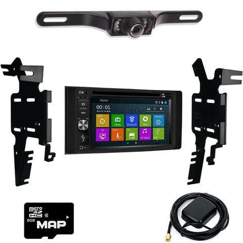 Otto Navi DVD GPS Navigation Multimedia Radio and Dash Kit for Nissan Frontier 2013-2016