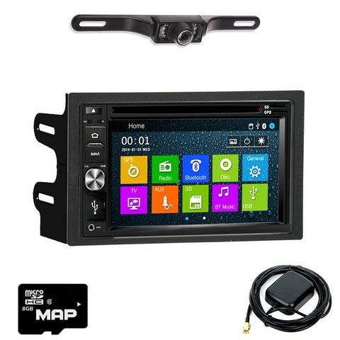 Otto Navi DVD GPS Navigation Multimedia Radio and Dash Kit for Volkswagen Golf 1999