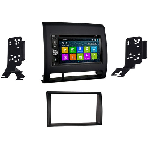Otto Navi DVD GPS Navigation Multimedia Radio and Dash Kit for Toyota Tacoma 2005-2011 Black