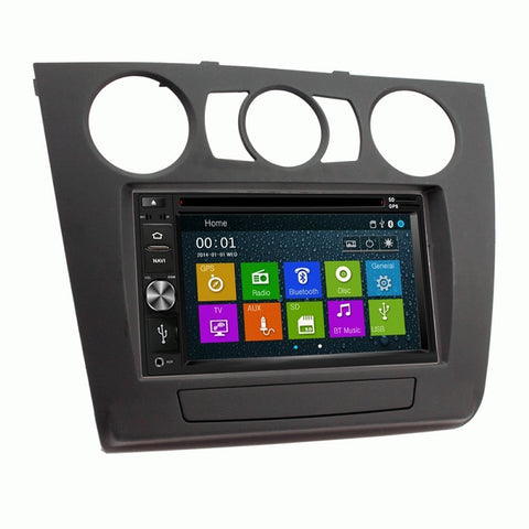 Otto Navi DVD GPS Navigation Multimedia Radio and Dash Kit for BMW 1 Series with Manual Climate
