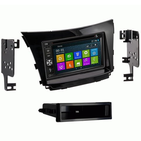 Otto Navi DVD GPS Navigation Multimedia Radio and Dash Kit for Hyundai Elantra GT 2016-2017 (with factory navigation)