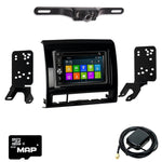 DVD GPS Navigation Multimedia Radio and Dash Kit for Toyota Tacoma 2012-2015