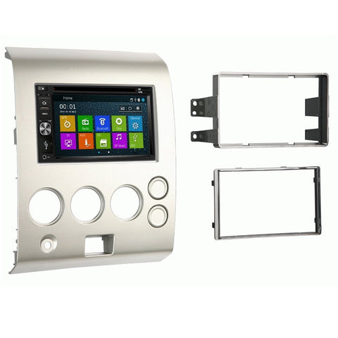 Otto Navi DVD GPS Navigation Multimedia Radio and Dash Kit for Nissan Armada 2004-2005