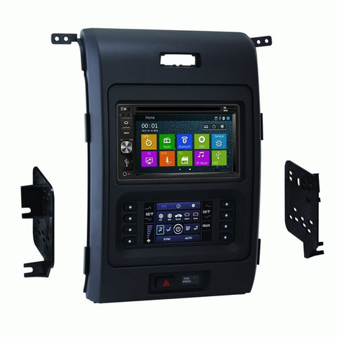 Otto Navi DVD GPS Navigation Multimedia Radio and Dash Kit for Ford F-150 2013-2014