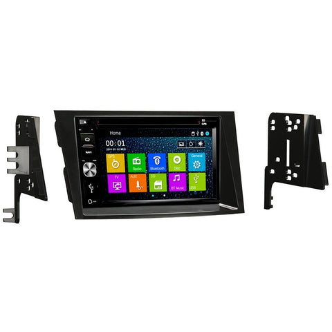 Otto Navi DVD GPS Navigation Multimedia Radio and Dash Kit for Subaru Legacy 2010-2014