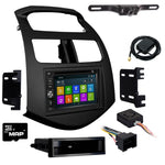 GPS Navigation Radio and Dash Kit for Chevrolet Spark 2013-2015
