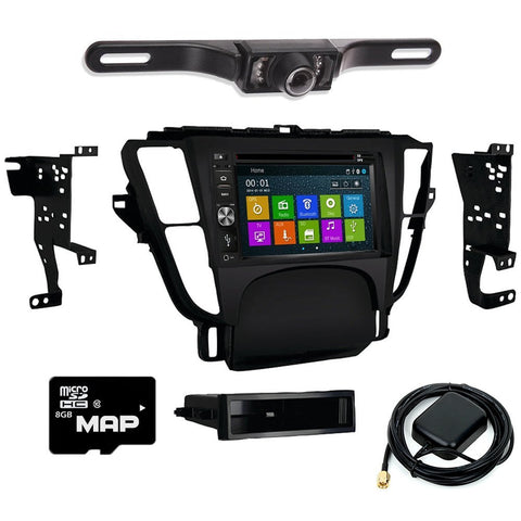 Otto Navi DVD GPS Navigation Multimedia Radio and Dash Kit for Acura TL 2009-2014