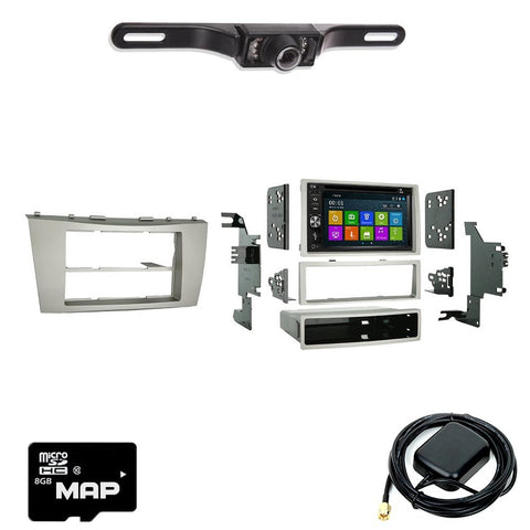 Otto Navi DVD GPS Navigation Multimedia Radio and Dash Kit for Toyota Camry 2007-2011