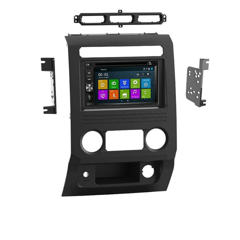 Otto Navi DVD GPS Navigation Multimedia Radio and Dash Kit for Ford F-350