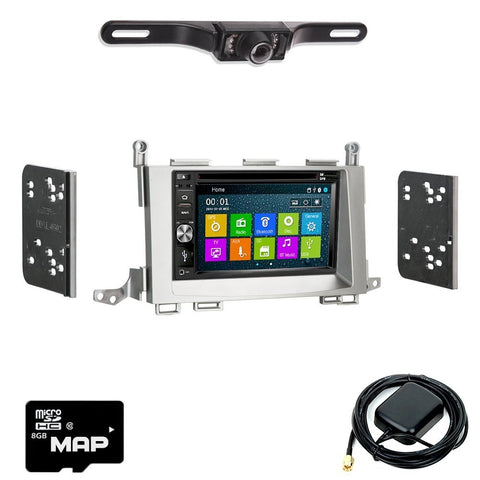 Otto Navi DVD GPS Navigation Multimedia Radio and Dash Kit for Toyota Venza 2009-2015
