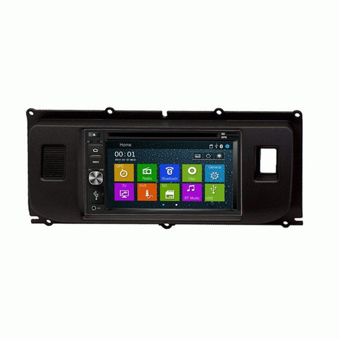 Otto Navi DVD GPS Navigation Multimedia Radio and Dash Kit for Land Rover Range Rover Evoque