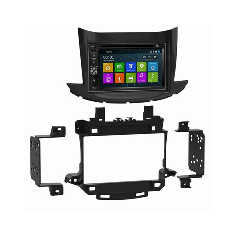 Otto Navi DVD GPS Navigation Multimedia Radio and Dash Kit for Chevrolet Trax 2017 and up