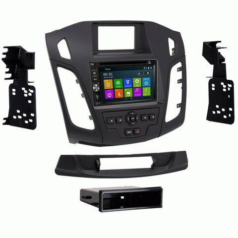 Otto Navi DVD GPS Navigation Multimedia Radio and Dash Kit for Ford Focus 2015 and up