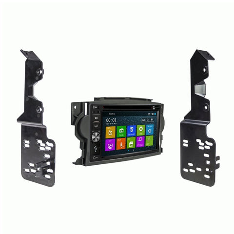 Otto Navi DVD GPS Navigation Multimedia Radio and Dash Kit for Acura TL 2004-2008