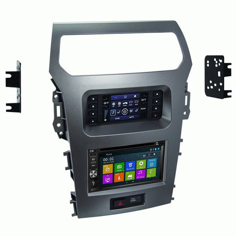 GPS Navigation Multimedia Radio and Dash Kit for Ford Explorer 2011-2015