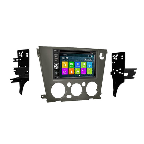 Otto Navi DVD GPS Navigation Multimedia Radio and Dash Kit for Subaru Outback 2005-2009