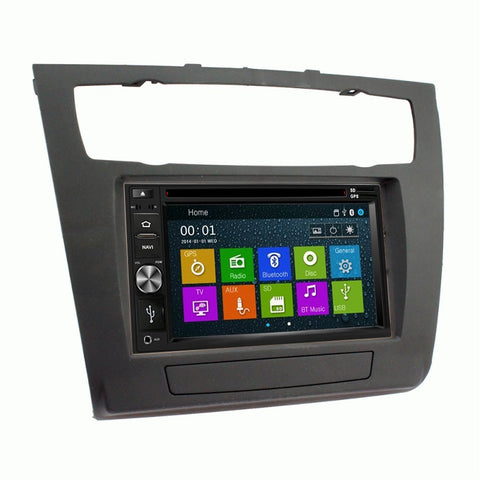 Otto Navi DVD GPS Navigation Multimedia Radio and Dash Kit for BMW 1 Series with Auto Climate