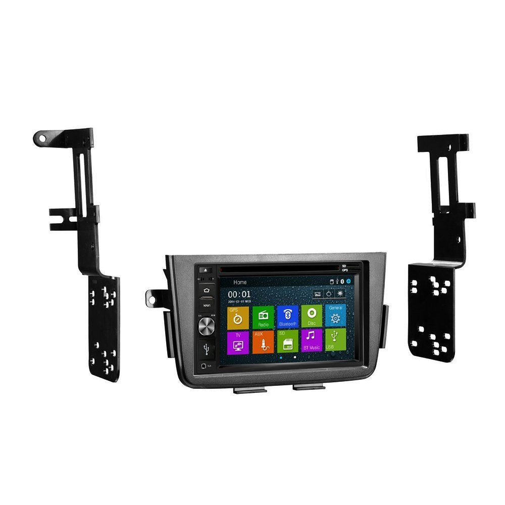 GPS Navigation Multimedia Radio And Dash Kit For Acura MDX