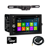 "6.5"" DVD GPS Navigation Multimedia Radio and Kit for Chevrolet Avalanche 2003-2006"