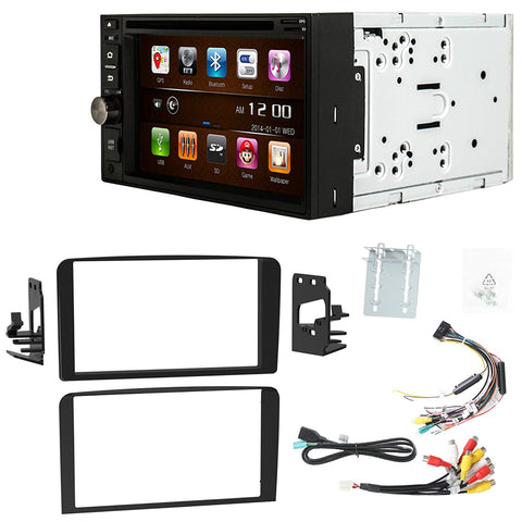 Otto Navi S-Series DVD GPS Navigation Multimedia Radio and Dash Kit for Cadillac Escalade 2002