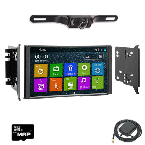 Otto Navi DVD GPS Navigation Multimedia Radio and Dash Kit for Kia Sorento 2007-2009