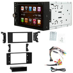Otto Navi S-Series DVD GPS Navigation Multimedia Radio and Dash Kit for Land Rover Range Rover 2003-2012