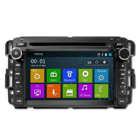 S90 GMC ACADIA 2007-2012 In-DASH NAVIGATION GPS TOUCHSCREEN BLUETOOTH AM/FM RADIO