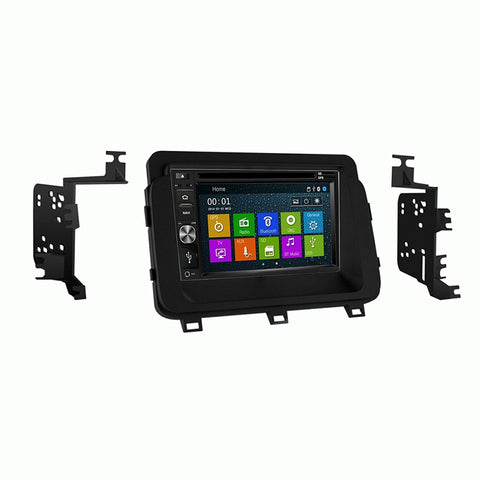 Otto Navi DVD GPS Navigation Multimedia Radio and Dash Kit for Kia Spectra 2007-2008