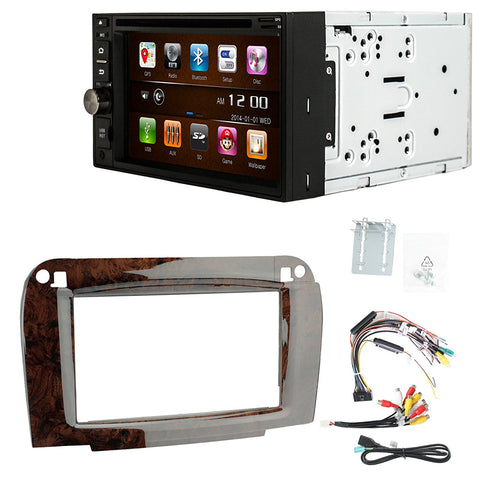 Otto Navi S-Series DVD GPS Navigation Multimedia Radio and Dash Kit for Mercedes-Benz CL-Class 2003-2006