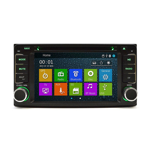Scion XD 2005-2011 OEM Replacement In Dash Double Din Touchscreen GPS Navigation Radio