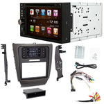 Otto Navi S-Series DVD GPS Navigation Multimedia Radio and Dash Kit for Lexus IS 250, IS 350 2006-2013, IS250C, IS 350C 2006-2015 TurboTouch