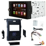 Otto Navi S-Series DVD GPS Navigation Multimedia Radio and Dash Kit for Ford F-150 2013-2014