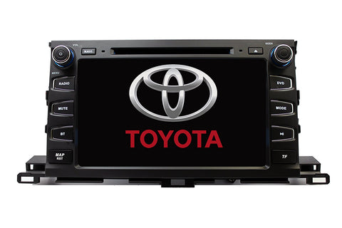"9"" GPS Navigation Radio for Toyota Highlander 2014 - 2018"